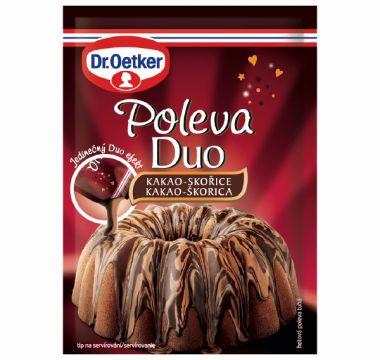 Poleva Duo kakao-skořice 100g