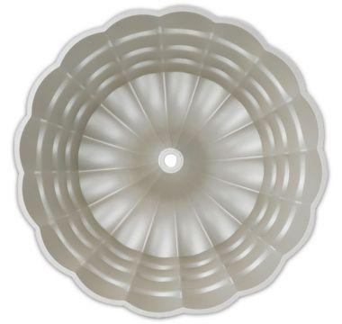 Moderní forma na bábovku ve tvaru květiny Ø 24 cm