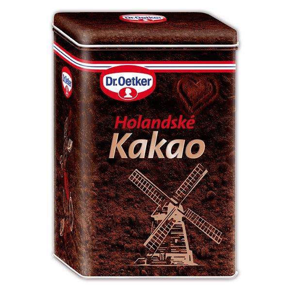 Kakaová dóza Holandské kakao