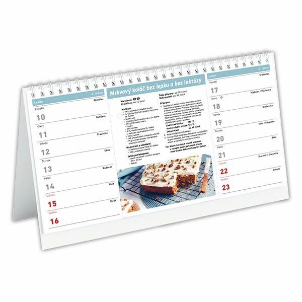 Stolní kalendář Dr.Oetker 2022