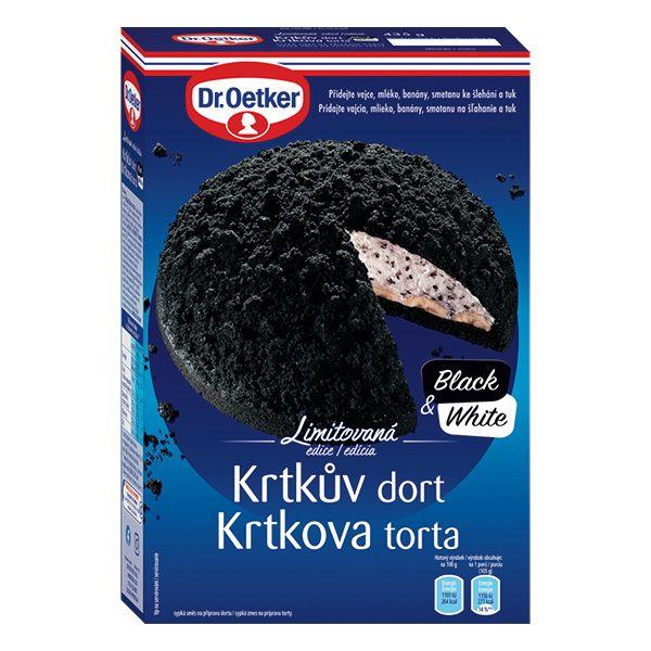 Krtkův dort Black&White 435g
