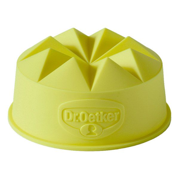 Formička na puding Dr. Oetker - žlutá